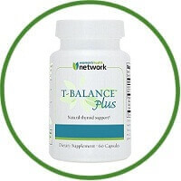 T-Balance Plus Natural Thyroid Supplement