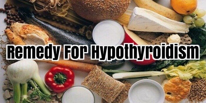 Remedy For Hypothyroidism